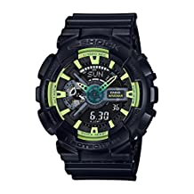 CASIO G-Shock GA-110 Sporty Illumi Series Watches - Black / One Size