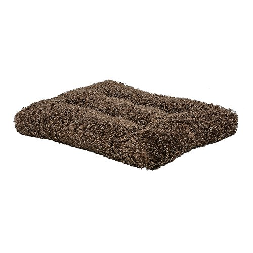 Plush Dog Bed | Coco Chic Dog Bed & Cat Bed | Cocoa 36L x 24W x 2H - Inches for Med. / Large Dog Breeds