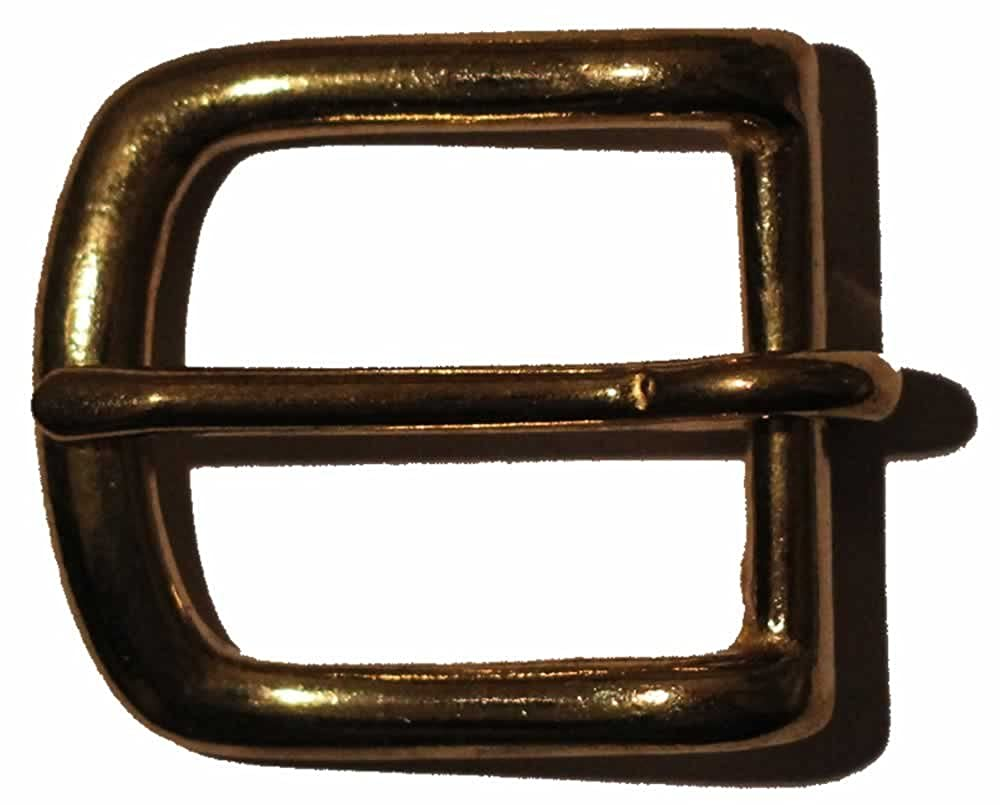 25mm Solid Brass Bridle Buckle. For Belts Up To 25mm Wide