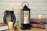 Wondise Lighted Musical Snow Globe Lantern with 6