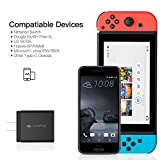 Type C Charger for Nintendo Switch, iVAPO Type C Charging Kit Fast Charging Premium Charging Adapter for Nintendo Switch & Google Pixel XL/Pixel Mi 6/5S & More USB Type C Devices