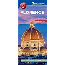 Michelin Florence City Map - Laminated
