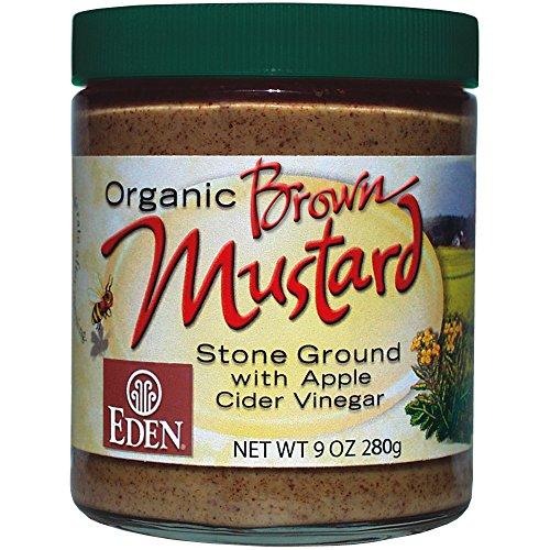 - Eden Organic Brown Mustard 9 oz