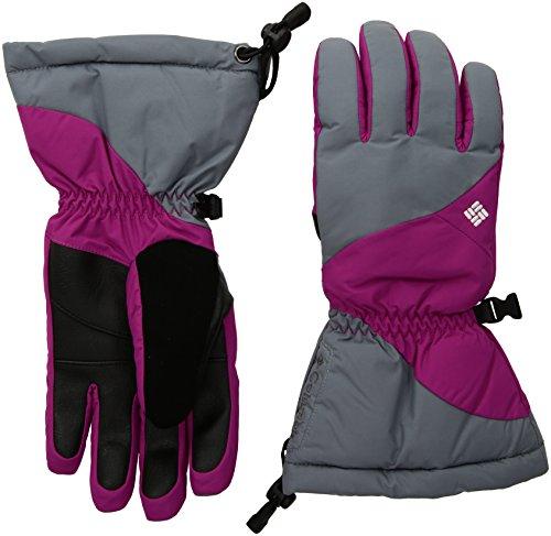 Columbia Women's Tumalo Mountain Gloves, Grey Ash/Deep Blush, (Columbia Lightweight Gloves)