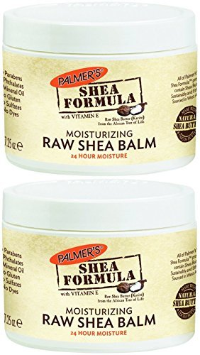 Palmer's Shea Butter Formula with Vitamin E Solid Jar, 7.25 Ounce (Pack of 2) by Palmer's (Butter Jar Shea Formula)