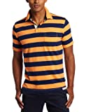 Nautica Men's Yarn Dyed Slub Polo Shirt
