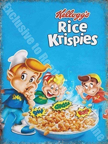 Kelloggs Rice Krispies Cereales Cocina Vintage Anuncio ...