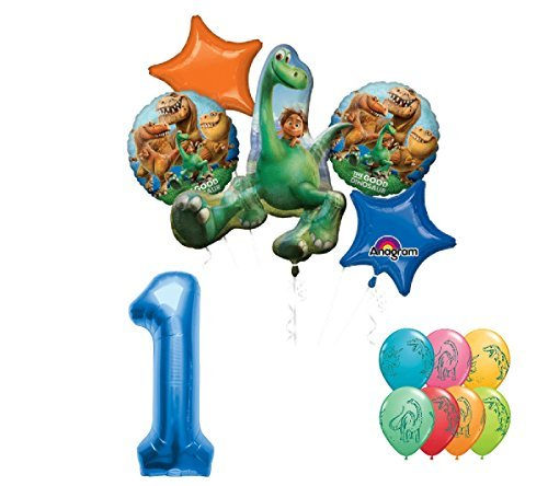 Disney Pixar The Good Dinosaur Movie 1st Birthday Party Decoration Balloon (Party Good Store)