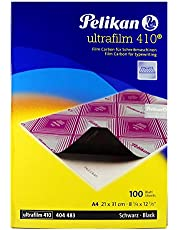 Pelikan 404483 - Papel, A4, color negro