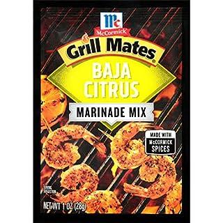 McCormick Grill Mates Baja Citrus Marinade Mix, 1 oz (Pack of 12)