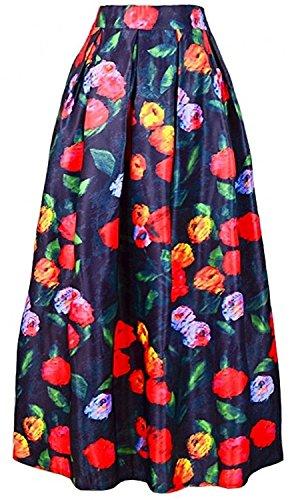 ainrving-womens-vintage-retro-floral-print-1950s-long-maxi-vintage-skirt-c4one-size