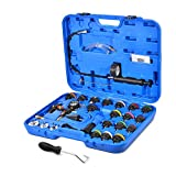 28-piece Radiator Pressure Test Kit + BONUS Hose Removal Tool by Approved for Automotive