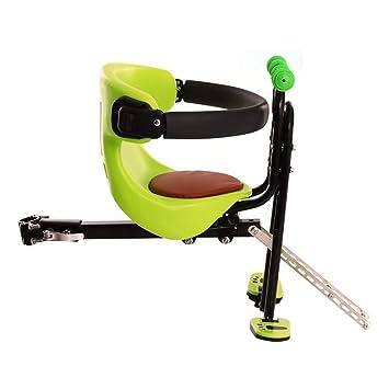 YXZN Asiento Infantil De La Bicicleta Asientos Delanteros De Seguridad del Bebé Ajustable Dos Puntos Fijos