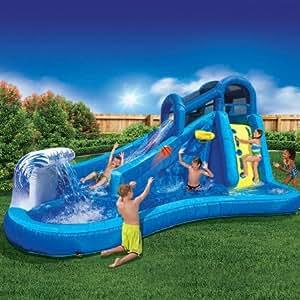 Amazon.com: Best Outdoor Inflatable Waterslide for Kids ...