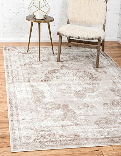 Unique Loom Sofia Collection Traditional Vintage Beige Area Rug (3' x ()