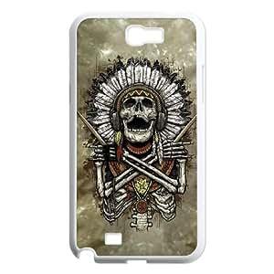 Samsung Galaxy N2 7100 Cell Phone Case White Tribal Beats VIU098897