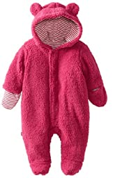 Magnificent Baby Baby-Girls Infant Hooded Bear Pram, Raspberry, 6 Months