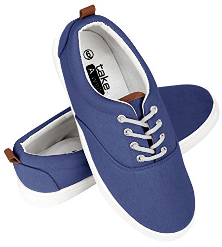Sneaker Womens Navy Lace Walk In Up Canvas A Take Fashion qtH786xw