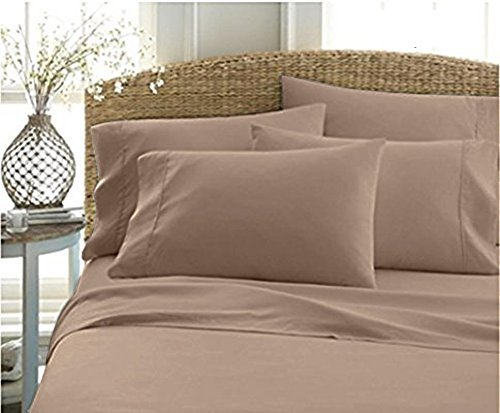 Cheap True Heavy Quality Super Soft Bed Sheets 1200 Thread Count Egyptian  Cotton 4