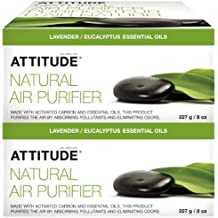 ATTITUDE Natural Air Purifier - Eucalyptus & Lavender - 8 oz - 2 pk