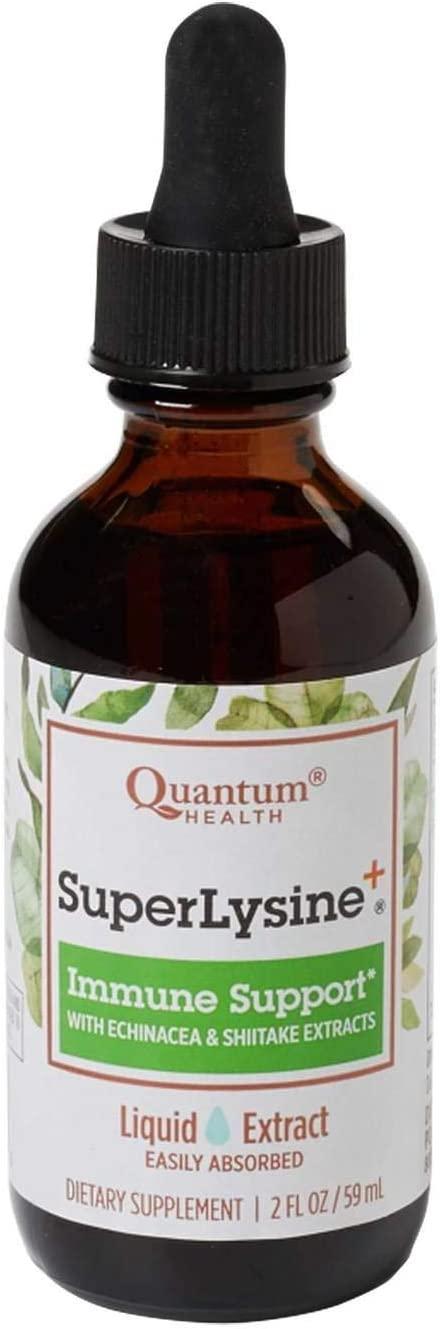 Quantum Health Super Lysine Liquid Extract 1×2 Oz by Quantum