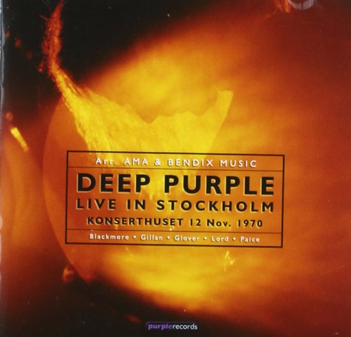 Deep Purple: Live in Stockholm 1970 (Audio CD)