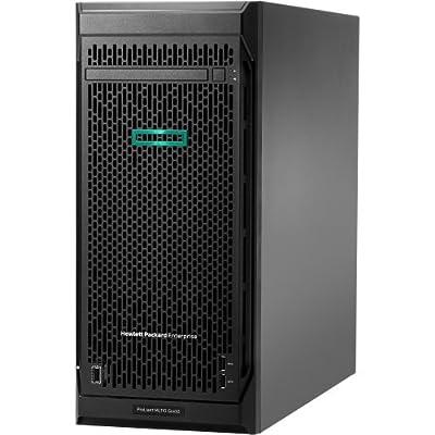 HP ProLiant ML110 G10 4.5U Tower Server - 1 x Intel Xeon Bronze 3104 Hexa-core (6 Core) 1.70 GHz - 8 GB Installed DDR4 SDRAM - Serial ATA/600 Controller - 1 x 350 W