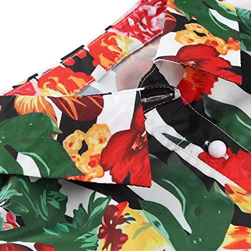 Robe Mariage Une Chic Fleuri Chemise Imprimé Avec Ceinture Longue Blanc Angelof Bandage Femme Hiver Soiree xOa48wBq