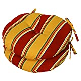 #6: Greendale Home Fashions Round Indoor/Outdoor Bistro Chair Cushion