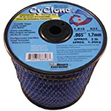 Cyclone .065-Inch 3-Pound Spool Commercial Grade 6-Blade Grass Trimmer Line, Blue CY065S3-2