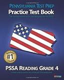 PENNSYLVANIA TEST PREP Practice Test Book PSSA Reading Grade 4, Test Master Press Pennsylvania, 146637442X