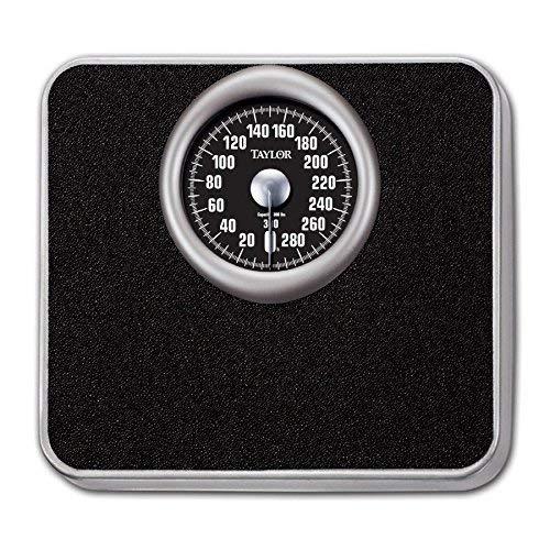 Taylor 48325072 Analog 300lb Bath Scale Steel Platform 300 Lb Dial Scale