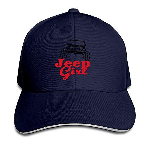 (LKSJSADJ Jeep Grille Logo Girl Men Women Sandwich Cap Navy)