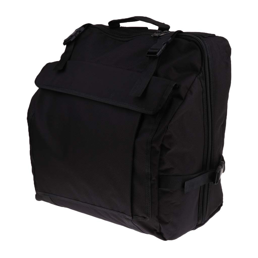 Flameer Waterproof Oxford Material Thick Padded Accordion Backpack Accordion Pocket - 120 Bass