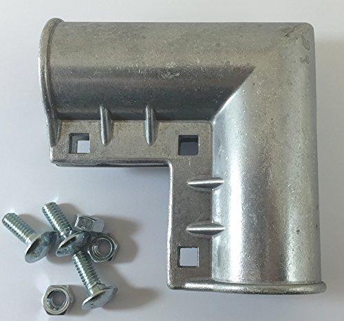 Residential Gate Corner - Aluminum 1 3/8 Inch Chain Link Fence Gate Frames - Chain Link Fence Gate - Gate Fence Frame