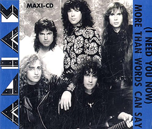 MORE THAN WORDS CAN SAY CD UK CAPITOL 1990 (Alias More Than Words Can Say compare prices)