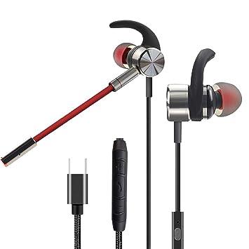 SIZIMA Gaming Auriculares E-Deportivo, In-ear Auriculares de ...