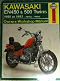 Haynes Kawasaki EN 450 and 500 Twins, 1985-1993 : Owners Workshop Manual, Ahlstrand, Alan and Haynes, J.H., 1563920530