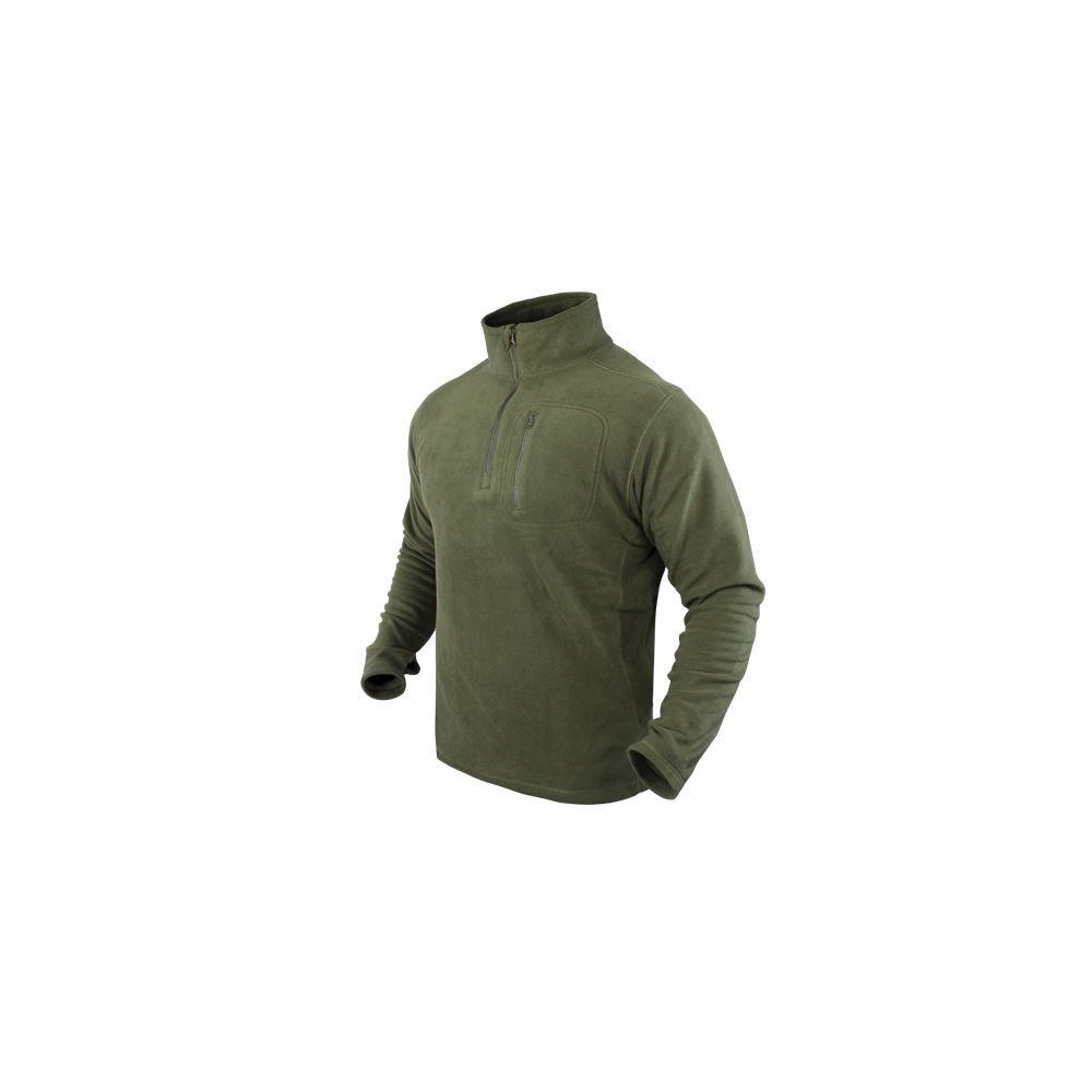 Condor 1/4 Zip Fleece Pullover Olive Drab B00L5NVSZW