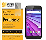 mStick Guardian + 0.2mm Anti Explosion Tempered Glass , 9H Hardness Ultra Clear, Anti-Scratch For Motorola Moto G Turbo