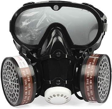 Máscara industrial 2 en 1 a prueba de polvo, antipolvo ...