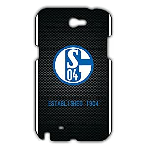 Note 2 Case TPU,FC FC Soccer Club Schalke 04 Football Club Logo Blackbrry z10 Phone Case,The Phone Case Cover For Note 2