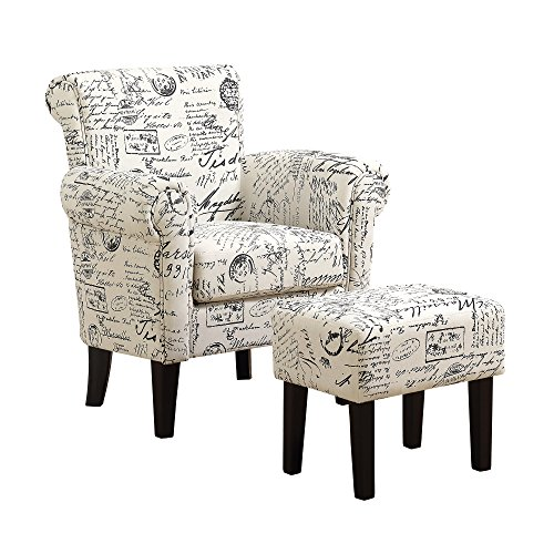(Monarch Specialties I I 8175 Accent Chair, Beige, 33