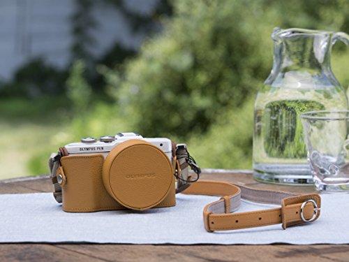 camera cases Olympus CS-45B Shoulder case, Olympus, Brown, Leather