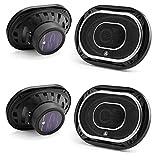 Jl Audio C2-690tx 6x9-Inch 3 Way Speakers with Silk Dome Tweeters C2 Series (2Pairs)