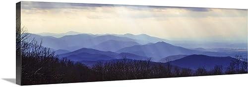 Blue Ridge Winter I Canvas Wall Art Print