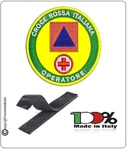 GS1 Parche Bordado con Velcro Cruz roja Italiana Operador OPEM + protección Civil Art.NSD-CRI-OP: Amazon.es: Hogar