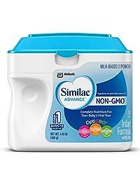 Similac Advance Non-GMO Infant Formula, Powder, 23.2 Ounces (Pack of 6)