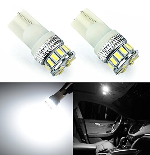 JDM ASTAR Extremely Bright 3014 Chipsets 194 168 2825 W5W T10 New Style LED Bulbs,Xenon White
