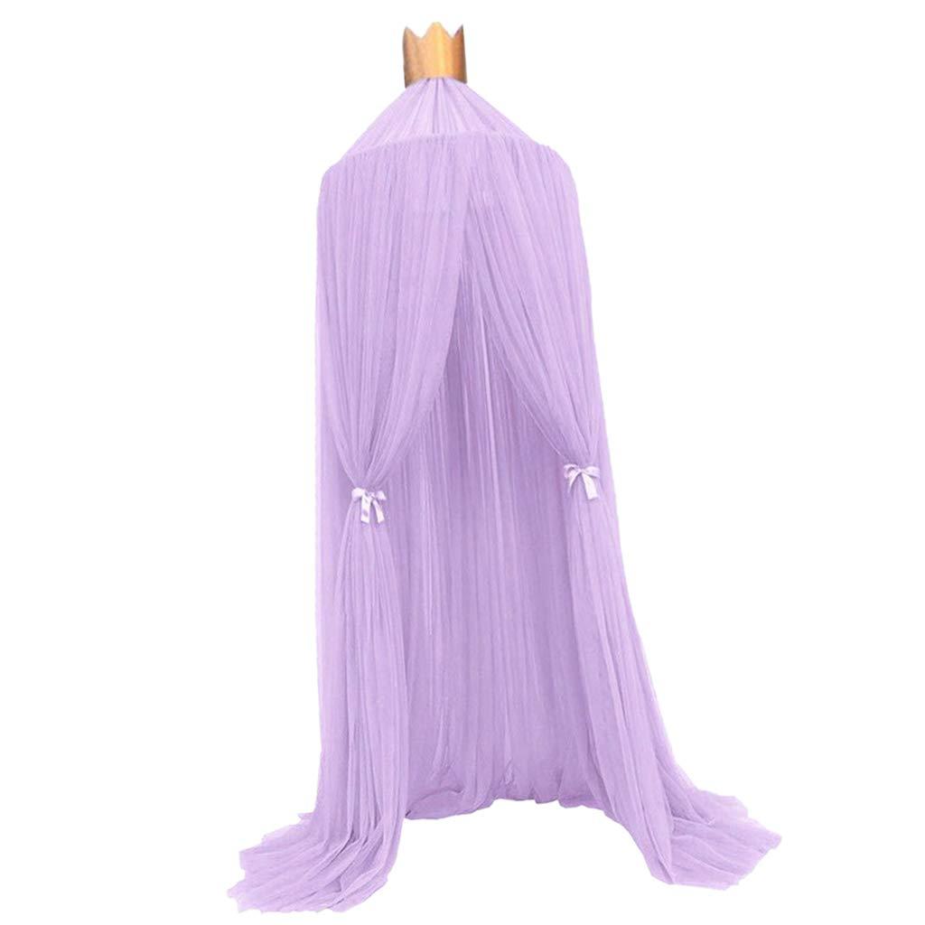 Azul Homyl 1 Juego de Cortina de Cama Mosquitera Decor de Casa Princesa Elegante
